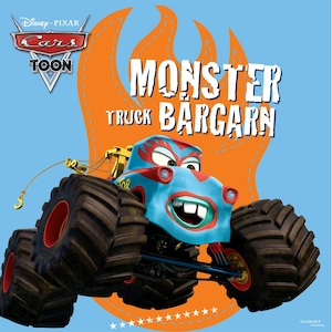 Monstertruck-Bärgarn